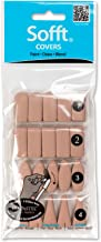 PanPastel PP62100 Soft Covers Mixed Pack X40, Brown