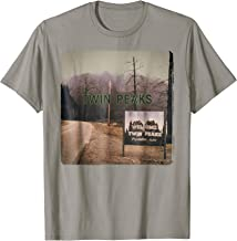 Twin Peaks City Limits Welcome Sign Vintage Graphic T-Shirt