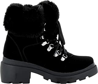 KENDALL + KYLIE Luxury Fashion Womens KKROAN01 Black Ankle Boots   Fall Winter 19