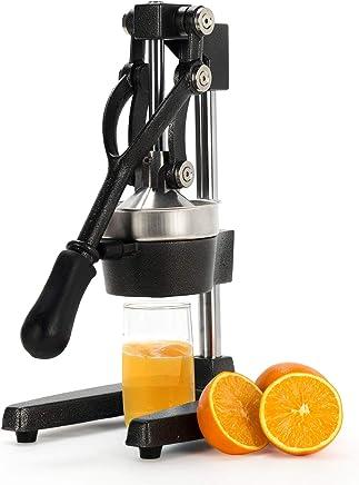 (Black) - CO-Z Commercial Grade Citrus Juicer Hand Press Manual Fruit Juicer Juice Squeezer Citrus Orange Lemon Pomegranate (Black)