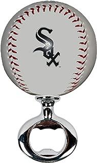 EBINGERS PLACE Chicago White Sox Licensed Baseball Fulcrum Series Bottle Opener
