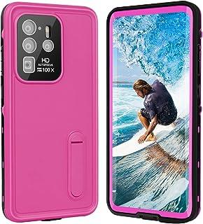 Galaxy S20+ Plus Case, with Screen Protector Fingerprint Film and Kickstand Case, Waterproof, Shockproof, Dustproof, Dropp...