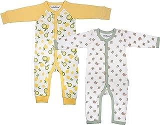 BÉBÉNCA Organics, Baby Organic Romper, one-Piece Jumpsuit (GOTS Certified) Unisex