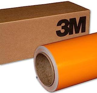 3M 1080 G54 GLOSS BRIGHT ORANGE 5ft x 2ft (10 Sq/ft) Car Wrap Vinyl Film