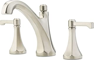 "Pfister LG49-DE0K Arterra 2-Handle 8"" Widespread Bathroom Faucet in Brushed Nickel, 1.2gpm"
