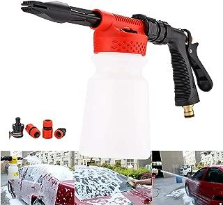 CPROSP Wash Gun Car Foam Gun, Cleaning Sprayer, Car Washer, 2 in 1 Foam Blaster with 900ml Bottle,for Van Motorcycle Vehicle