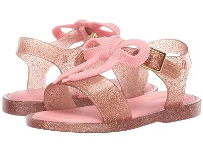 Mini Melissa Mini Mar Sandal (Toddler/Little Kid) (Gold Glitter) Girls Shoes