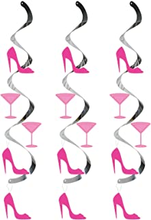 Dizzy Danglers Hanging Party Décor, Martini Glass and High Heels