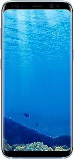 سامسونج جالكسي اس 8 شريحتين اتصال - 64 جيجا, الجيل الرابع ال تي اي, ازرق
