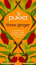 Pukka Herbs Three Ginger Tea Bags, x