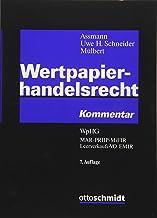 Wertpapierhandelsrecht: WpHG MAR PRIIP MiFIR Leerverkaufs-VO EMIR
