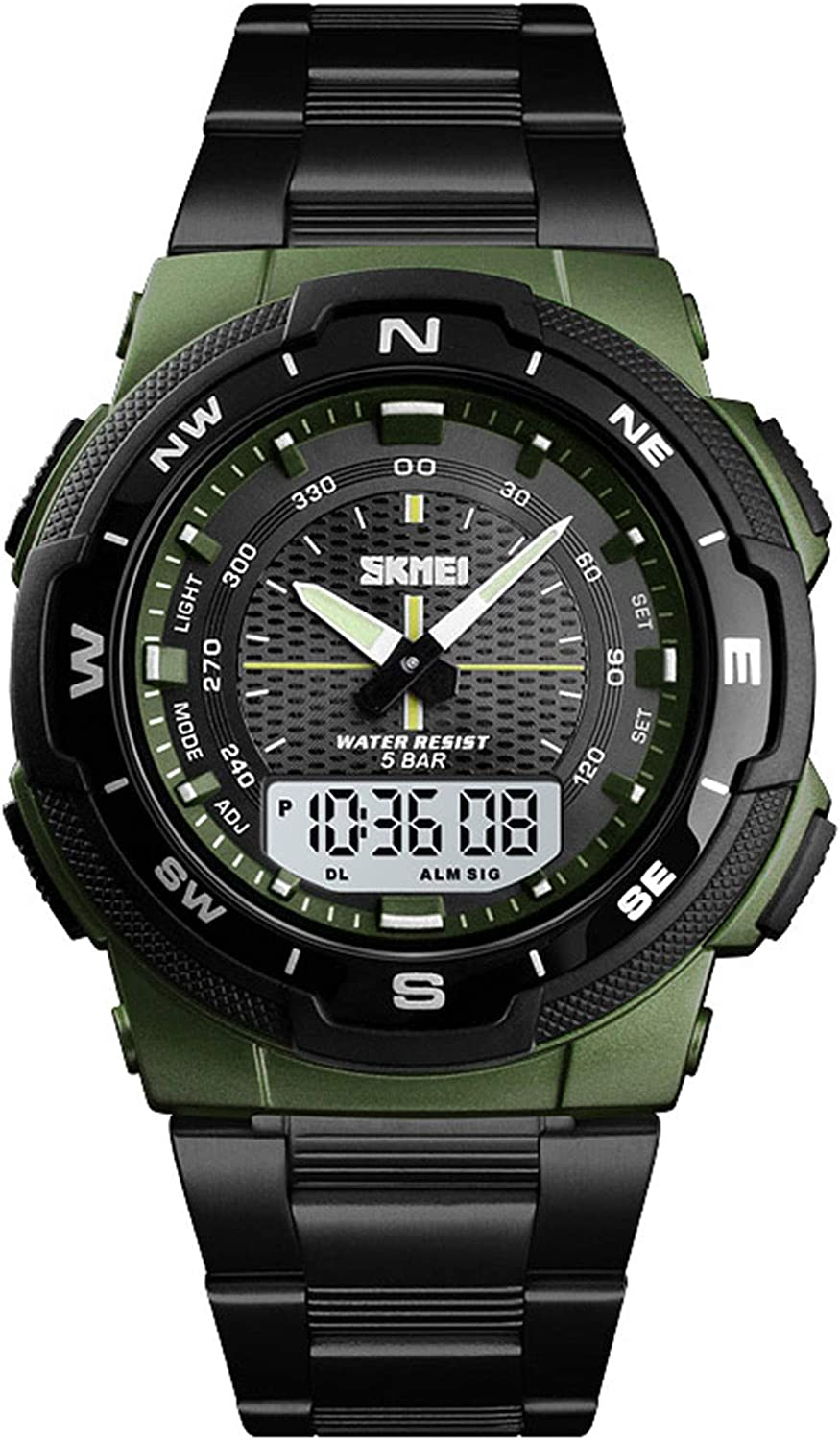 Men's LED Sales for sale Analog Digital Watch Sports Watches outlet Fashion Stainless