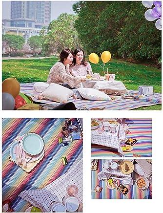 ABCX Campingdecke verdicken Picknick-Matte Feuchtigkeitsschutz im Freien Teppich Großraum Zelt Zelt Zelt Multiplayer Acryl Peva 250 300 B07J2ZDK56 | Speichern  335a6a