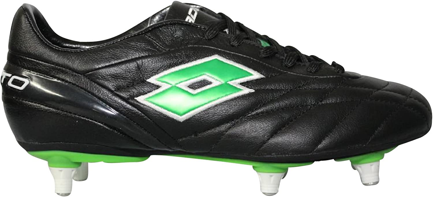 Lotto Men's Football Boots black green