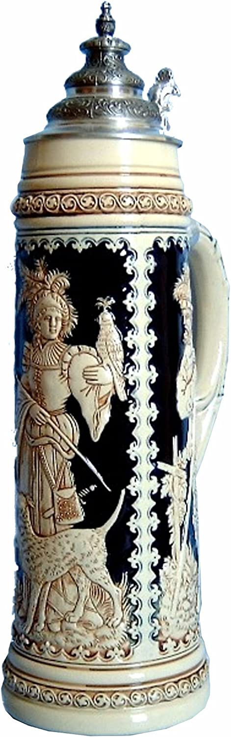 Super Special SALE held Beer Stein by King Columbus Mall - Edition Collectors Limitaet Authentic 2004