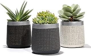 Best black concrete planters Reviews