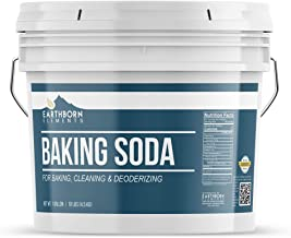 Baking Soda (1 Gallon) Natural for Cooking, Baking, Cleaning, Deodorizing, & More by Earthborn Elements