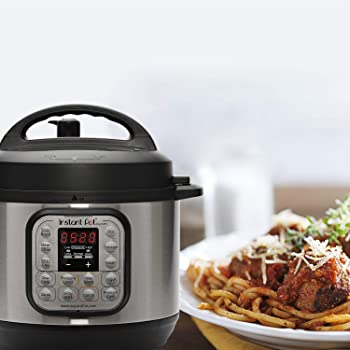 Instant Pot Duo Mini Multi-Use Programmable Pressure Cooker, Slow Cooker, Rice Cooker, Steamer, Sauté, Yogurt Maker a...