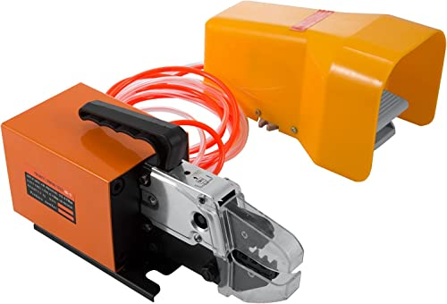 new arrival Mophorn Pneumatic Crimping Tool AM-10 Pneumatic Air Powered Wire Terminal Crimping Machine Crimping Up to new arrival 16mm2 outlet online sale Pneumatic Crimper (AM-10 Crimper) online sale