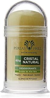 Desodorante Cristal Natural 60g - Extrato de Aloe vera
