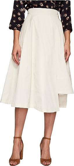 J.O.A. Asymmetric Flare Skirt