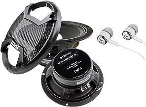 New Pair of Orion Cobalt CM65 1000 Watt 4-Ohm Loud Car Audio High Efficiency Mid-Range Speakers With FREE Alphasonik Earbuds