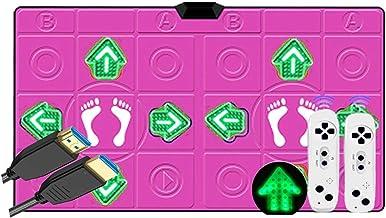 Double Dance Deken Somatosensory Game For Kinderen En Volwassenen DACK RUG, Dance Mat Pad Pads (Color : Massage glow b)