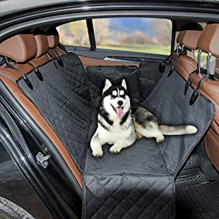 WIWU New Dog Seat Cover Car Seat Covers for Dogs,Pet Car Seat Waterproof Large Car Back Seat Hammock Nonslip&Foldable Car Pet Seat for Trucks SUVs