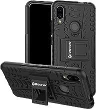 Bracevor Hybrid Back Cover Kickstand Case for Xiaomi Redmi Note 7 | Redmi Note 7 Pro | Redmi Note 7s - Black | Rugged Defender