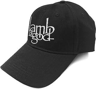 Lamb of God Baseball Cap Band Logo Burn The Priest Official Black Strapback