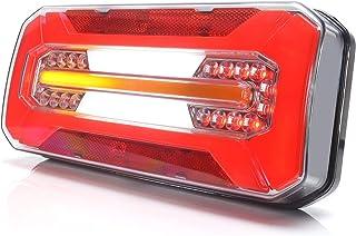 LED Rückleuchte LKW PKW Anhänger 6 Funktionen mit dynamischer Blinkleuchte L/R 12V 24V 1298DD