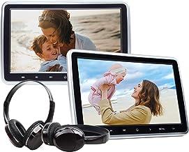 eonon C1100A 10.1 inch LCD Headrest Lecteur DVD Appui-tête Moniteur pour Voiture avec..