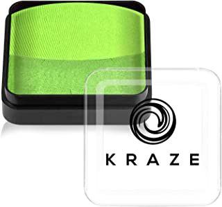 Kraze FX Dome Cake - Gecko (25 gm), Professional Face and Body Painting Split Cake, hypoallergeen, veilig en niet-giftig, ...
