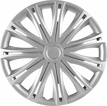 Rau 56010 Radzierblende Radkappe Spark Passend Für Alle Gängigen 14 Zoll Stahlfelgen Silber 4 Er Set Auto