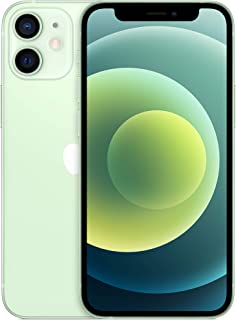 Apple iPhone 12 mini with Facetime - 128GB, 5G, Green - Middle East Version