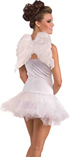 Forum Novelties Women's Adult Club Angel Feather Wings Costume Accessory