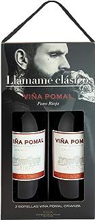 Viña Pomal | Estuche regalo Vino Tinto Crianza Viña Pomal | 2 botellas de 75 cl