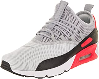 size 40 930a2 20ac4 Nike Mens Air Max 90 EZ Running Shoes Pure Platinum Wolf Grey Black
