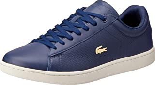 Lacoste Women's Carnaby EVO 119 3 Fashion Shoes, NVY/Off WHT