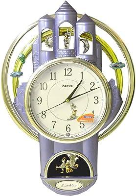 Oreva Quartz Designer Wall Clock for Home & Office (AQ-2037) Blue