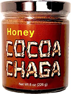 Zen Bear | Honey Cocoa Chaga | A Light Chocolate Cocoa Drink That is Also Good For You | 8 Oz Jar