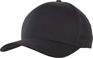 Flexfit 110 Trucker Cap, Black/Black, one Size