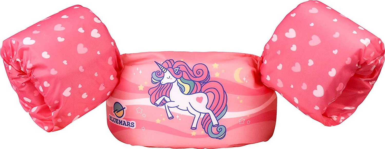 BLUEMARS Kids gift Over item handling Swim Vests Floaties for Girls Toddler and Boys fr