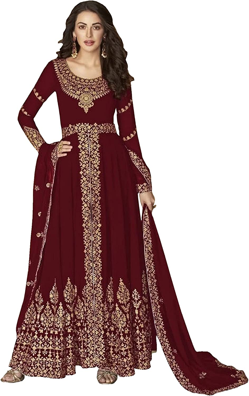 Special sale item Traditional Wear Style Salwar Suit 40% OFF Cheap Sale Stitched Embroidery Heav Work