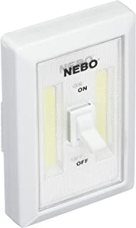 NEBO Available 6523 Flipit Portable LED Light with 3 AAA Batteries Included (2 Pack), 4.5
