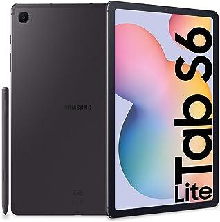 "Samsung Galaxy Tab S6 Lite + S Pen, Tablet, Display 10.4"" WUXGA+ TFT, 64 GB Espandibili, RAM 4GB, Batteria 7040 mAh (Ricar..."
