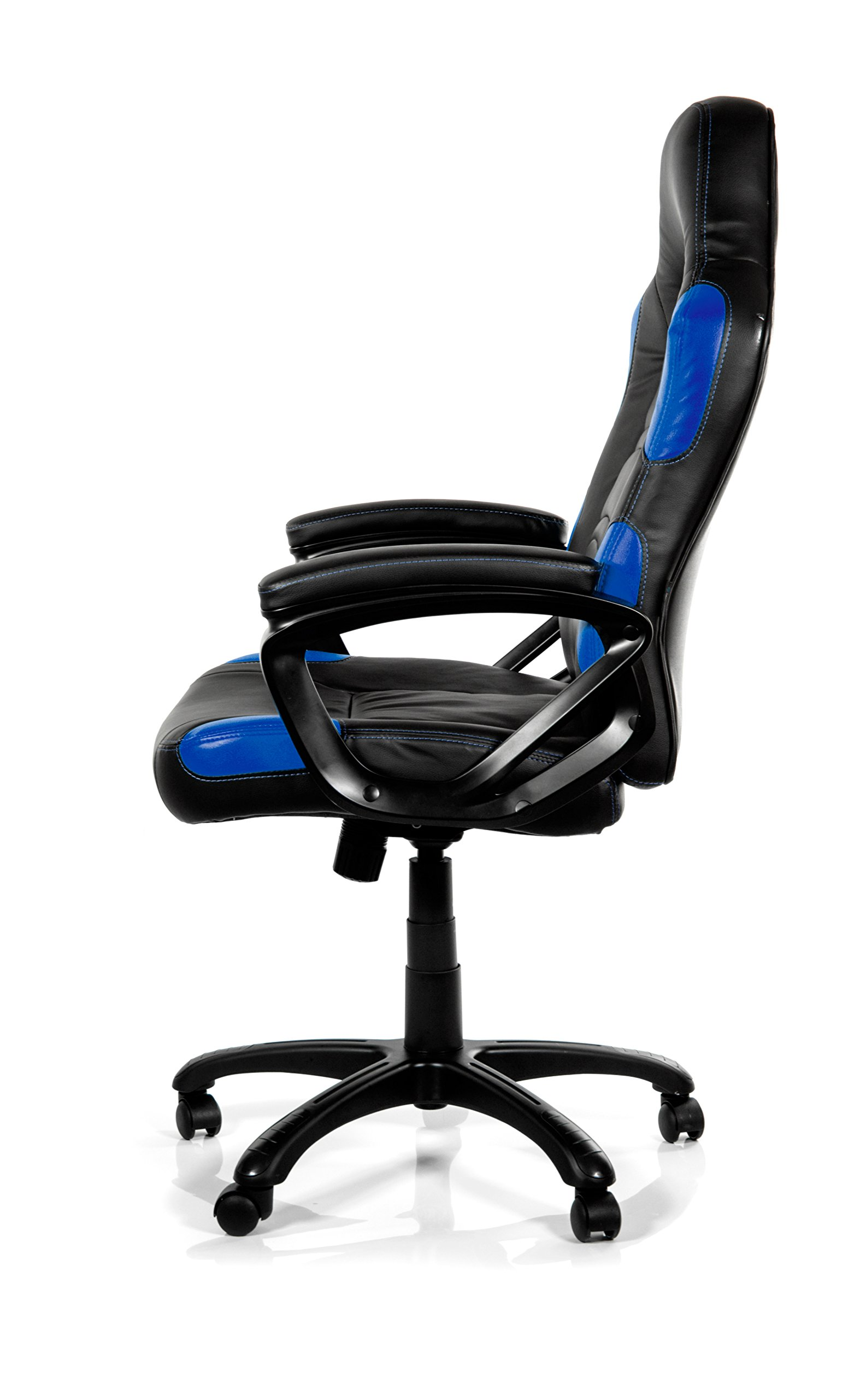 Silla Arozzi Enzo Blue Negro, 150 kg, 125 cm, 115 cm, 53 cm, 51 cm