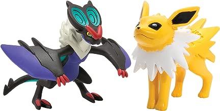 Pokémon 2 Pack Small Figures Noivern vs Jolteon