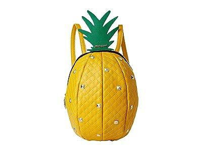 Betsey Johnson Pineapple of My Eye Backpack (Yellow) Backpack Bags