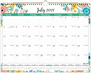 2021-2022 Calendar - Monthly Wall Calendar 2021-2022, Starts at July 2021 not January 2021, 14.84 x 11.41 Inches, 18 Month...